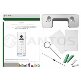 Вызывная панель цветного видеодомофона Tantos iPanel 2 WG EM KBD HD