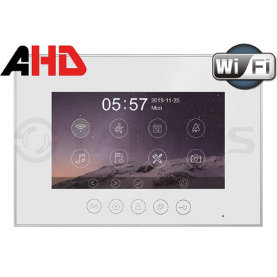 Монитор HD цветного видеодомофона Tantos Marilyn HD Wi-Fi s
