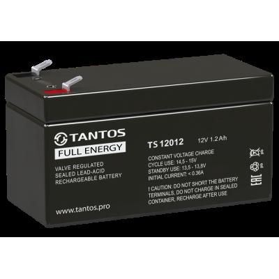 Аккумулятор 12 В 1.2 А∙ч (TS 12012) Tantos Аккумуляторная батарея свинцово-кислотная AGM