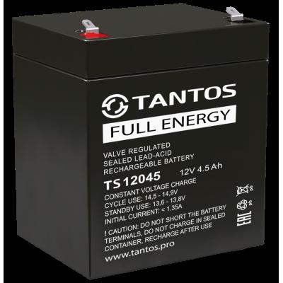 Аккумулятор 12 В 4.5 А∙ч (TS 12045) Tantos Аккумуляторная батарея свинцово-кислотная AGM
