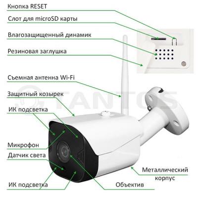 IP PTZ камера Tantos iЦилиндр Плюс