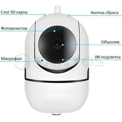 IP PTZ камера Tantos iРотор Плюс
