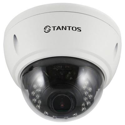 HD-камера для видеонаблюдения купольная Tantos TSc-Vi1080pUVCv (2.8-12)