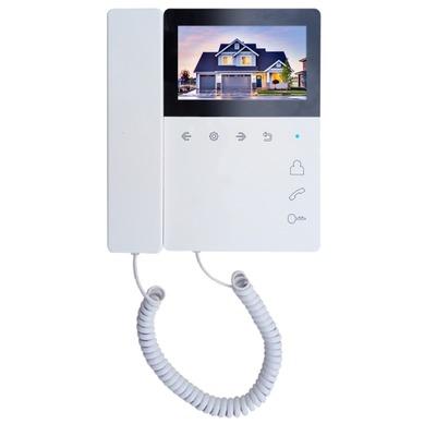 Монитор цветного видеодомофона Tantos Elly с трубкой (XL или VZ)