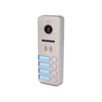 Вызывная панель цветного видеодомофона Tantos iPanel 2 Металл 4 абонента