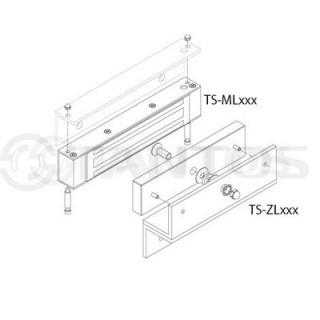 Комплект креплений для электромагнитных замков Tantos TS-ZL300