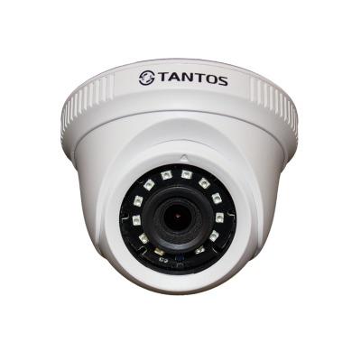 HD-камера для видеонаблюдения купольная Tantos TSc-E2HDf (2.8)