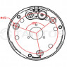 IP-камера купольная Tantos TSi-Vn425VP (2.8-12)