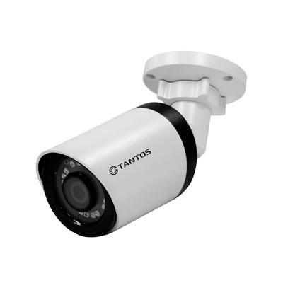 IP-камера цилиндрическая Tantos Tsi-Pe25FP (2.8)