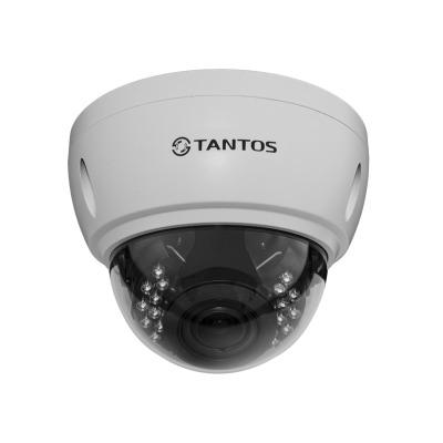IP-камера купольная Tantos TSi-Ve25VPA (2.8-12)